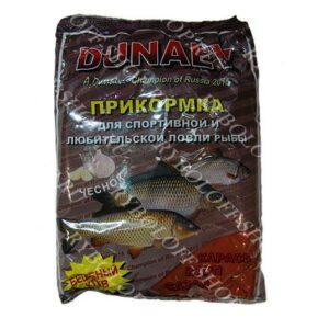 Купить прикормку Дунаев чеснок 900гр в интернет магазине Ryboloff-shop.ru
