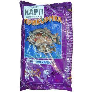 Купить прикормку Удача+ Карп-шоколад в интернет магазине Ryboloff-shop.ru
