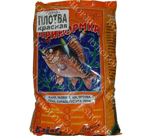 Купить прикормку Удача+ Плотва-красная в интернет магазине Ryboloff-shop.ru