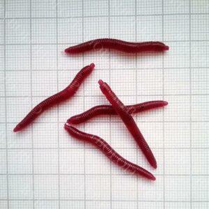 Силиконовые черви для рыбалки купить в Ryboloff-Shop.ru
